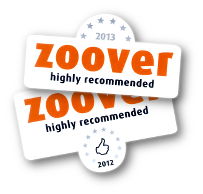 Highly recommended by Zoover